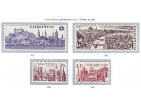 ČS 1967 / 1583-1586 / Mestá **