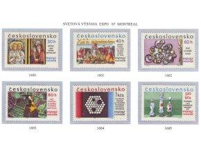 ČS 1967 / 1600-1605 / Expo 67 Montreal **