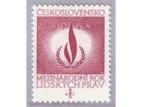 ČS 1968 / 1663 / Rok ľudských práv **