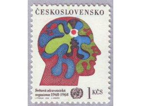 ČS 1968 / 1665 / Svetová zdravotnícka organizácia **