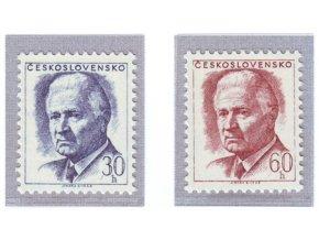 ČS 1968 / 1677-1678 / Ludvík Svoboda (výplatné) **