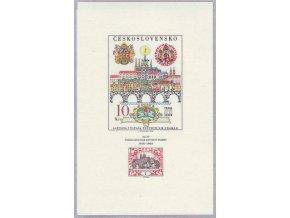 ČS 1694 H 50. výročie prvej čs. známky, Praga 68