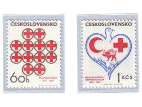ČS 1969 / 1741-1742 / Červený kríž **