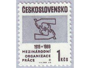 ČS 1969 / 1743 / Medzinárodná org. Práce **