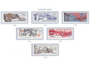 ČS 1969 / 1750-1755 / významné výročia **