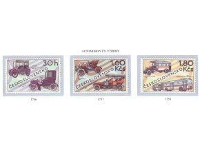 ČS 1969 / 1756-1758 / Historické automobily **