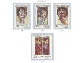ČS 1969 / 1774-1777 / Umenie A. Muchu **