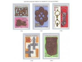 ČS 1969 / 1786-1790 / Archeologické objavy **