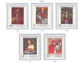ČS 1969 / 1798-1802 / Umenie **
