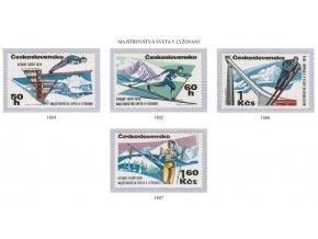 ČS 1970 / 1804-1807 / MS v lyžovaní **