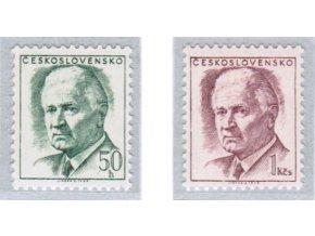 ČS 1970 / 1808-1809 / Ludvík Svoboda (výplatné) **