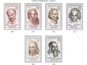 ČS 1970 / 1810-1815 / Osobnosti **