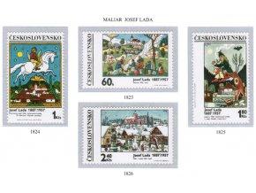 ČS 1970 / 1823-1826 / Josef Lada **