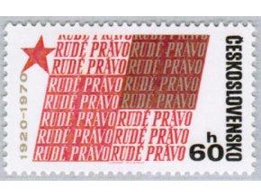 ČS 1839 50 rokov Rudého práva