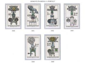 ČS 1970 / 1840-1845 / Domové erby a portály **