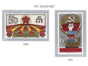 ČS 1971 / 1900-1901 / Zjazd KSČ **
