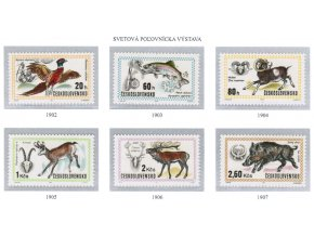 ČS 1971 / 1902-1907 / Svetová poľovnícka výstava **