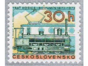 ČS 1972 / 1947 / 100 rokov železnice **