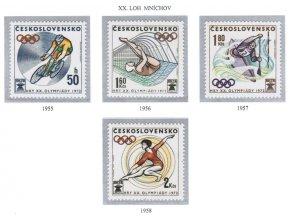 ČS 1955-1958 LOH Mníchov