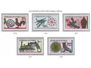 ČS 1974-1978 Drotárske umenie