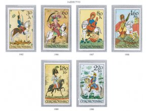 ČS 1985-1990 Jazdectvo