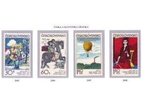 ČS 1973 / 2005-2008 / Grafika **