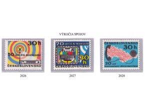 ČS 1973 / 2026-2028 / Výročia spojov **