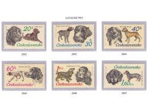 ČS 2042-2047 Loveckí psi
