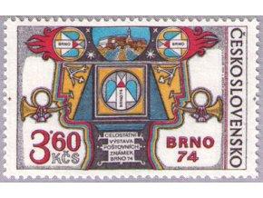 ČS 2066 Výstava Brno 1974