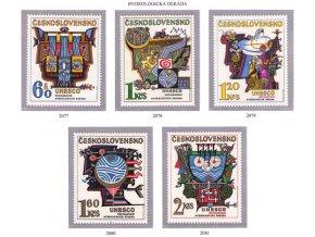 ČS 1974 / 2077-2081 / Hydrologická dekáda **