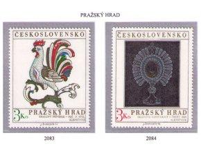 ČS 1974 / 2083-2084 / Pražský hrad **