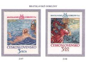ČS 2147-2148 Bratislavské gobelíny II