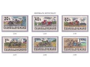 ČS 1975 / 2154-2159 / Čs. motocykle **