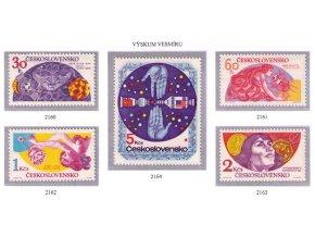 ČS 1975 / 2160-2164 / Výskum vesmíru **