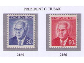 ČS 2165-2166 G. Husák
