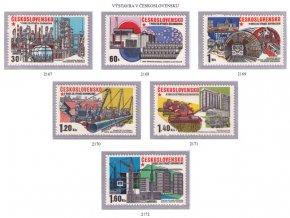 ČS 1975 / 2167-2172 / Socialisticá výstavba **