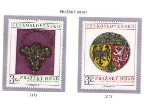 ČS 1975 / 2173-2174 / Pražský hrad **