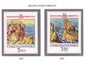 ČS 1976 / 2201-2202 / Bratislavské gobelíny III **