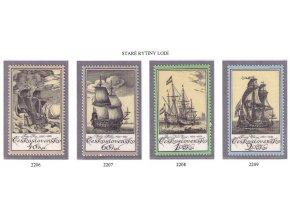 ČS 2206-2209 Staré rytiny lodí