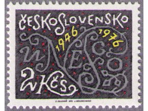 ČS 2211 30. výročie UNESCO