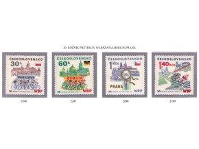 ČS 2246-2249 30. ročník Pretekov mieru
