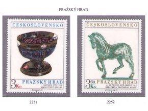 ČS 1977 / 2251-2252 / Pražský hrad **