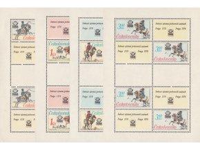 ČS 1977 / 2253-2256 PL / Poštové rovnošaty **