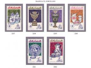 ČS 1977 / 2257-2262 / Tradícia čs. porcelánu **