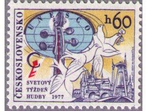 ČS 1977 / 2272 / Svetový týždeň hudby **