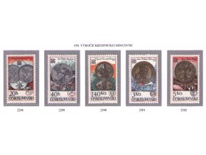 ČS 1978 / 2298-2302 / Kremnická mincovňa **