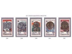 ČS 2298-2302 Kremnická mincovňa