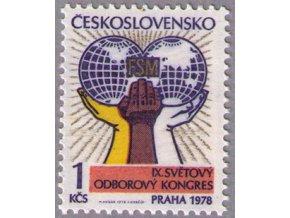 ČS 1978 / 2304 / Odborový kongres **