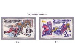 ČS 1978 / 2305-2306 / MS v ľadovom hokeji **