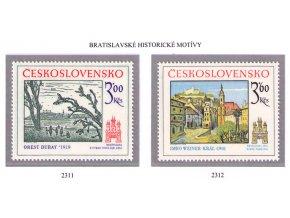 ČS 1978 / 2311-2312 / Bratislavské motívy **